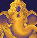 Lord Ganesh - Digital Paint, Photoshop